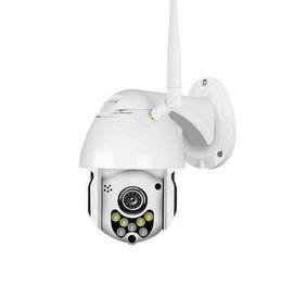 Cctv cámara de visión nocturna cúpula online-2019-Nuevo 1080P 2MP Cámara IP inalámbrica Cúpula de velocidad CCTV Cámaras de seguridad Aire libre IR Visión nocturna Audio P2P Cámara WIFI
