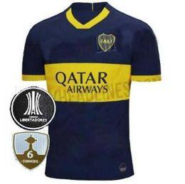 9c80a561e New 2019 2020 Thailand Boca Juniors Home Third Green 2018 Argentine Super  League Soccer Jerseys 19 20 GAGO  5 CARDONA TEVEZ football Shirts