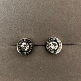 top ohrringe für männer Rabatt 2019 neue deluxe 316l titanium stahl silber männer mini runde diamant ohrstecker für frauen männer top schmuck