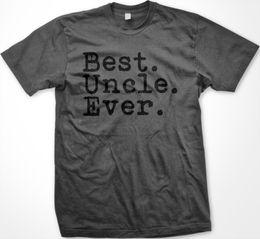 VERKAUF Beste Onkel Ever Zeitraum Nichte Neffe Tio Neuheit Gag Geschenk Holzkohle T-shirt Lustige kostenloser Versand Unisex Casual T-Shirt von Fabrikanten