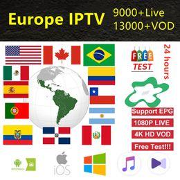 Caja de televisión para adultos online-Full HD Europa Suscripción IPTV para adultos iptv Francés España Suecia Italia tv box android tv box smart m3u