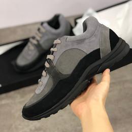 Кроссовки из пвх онлайн-2019 роскошные кроссовки из нейлона замши из телячьей кожи G34360 дизайнерская обувь взлетно-посадочной полосы прозрачные ПВХ кроссовки женщина мужская повседневная обувь бегунов обувь