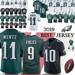 20b959fc960 10 DeSean Jackson Philadelphia jersey Eagle 9 Nick Foles 86 Zach Ertz 20  Brian Dawkins 2019 new jerseys Top MEN shirt supplier philadelphia eagles  jerseys