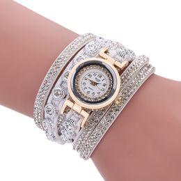 Pulsera de pana coreana de moda para mujer con reloj de diamantes para mujer desde fabricantes