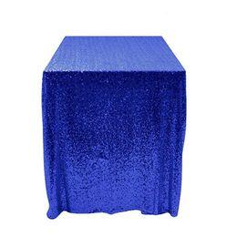 La tavola sovrappone i matrimoni online-Runner 50''x50 '' Square Royal blue Sequin Tablecloth Sequin Overlay, Runners, Gatsby Wedding, Glam Wedding Decor, Matrimoni vintage