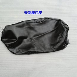 motorcycle goods Coupons - motorcycle good quality water proof YBR125 seat cover in black color for Yamaha 125cc YBR 125 seat spare parts