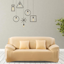 material de hoja Rebajas Funda de sofá de alta calidad a prueba de agua elástica a prueba de polvo funda de sofá funda de cojín protector para sala de estar decoración venta