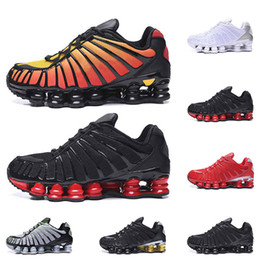 Shox sportschuhe online-nike shox deliver NZ Männer Frauen Laufschuhe Liefern OZ NZ TLX Athletic Sneakers rot blau schwarz weiß Sport Outdoor Walking Schuhgröße 36-46