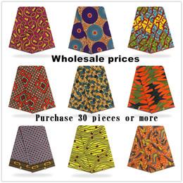 2020 tessuti di stampa della cera all'ingrosso Prezzo all'ingrosso! Migliore qualità!! Cera olandese olandese vera, tessuto stampato africano 100% cotone Nigeria sconti tessuti di stampa della cera all'ingrosso
