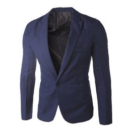Тонкий костюм подходит розовый онлайн- Sky Blue Blazer Men Costume Veste Homme 2018 New Arrival Mens Slim Fit Blazer Jacket Stylish Red Black Pink Suit Men 3XL
