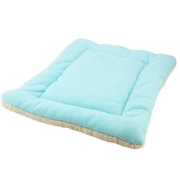 2019 ящики для кроватей для собак Pet mat Cushion Mat Warm Dog Mattress Pad for Pet House/Kennels/Cage/Crate/Bed Drop Shipping скидка ящики для кроватей для собак