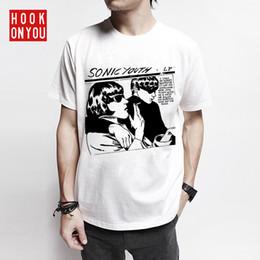 classica di chitarra Sconti T-shirt da uomo uomo divertente appiccicosa classica voce rock chitarra basso punk rock femminile marea camicia manica corta
