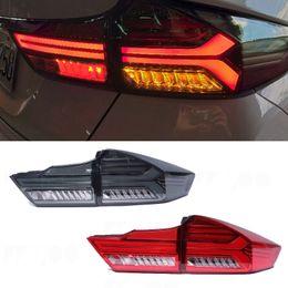 Lámparas led de ciudad online-Lámpara de cola para el coche Honda City Lights 2014-2019 traseras LED luces de niebla DRL Luces de sintonización accesorios del coche