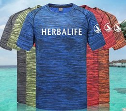Deutschland Herbalife-Mann Runde Kragen Kurzarm Camouflage Paar Art-Sports Fitness Square Dance Quick Dry T-Shirt Versorgung
