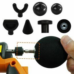Adaptador de refuerzo online-6pcs percusión Masaje Tip Bit Para Booster masajeador Accesorio Adaptador Worx