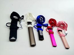 O anillo de collar online-Vape Pod Carry On Kit con tapa de silicona a prueba de polvo Lanyard Necklace Band Ring Buckle Holder For COCO Jul SMPO MT pluma plana