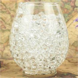 vaso grossisti Sconti tallone grossista 2500 pz / borsa Colorful Magic Pearl vaso di riempimento a forma di terreno di cristallo acqua perline fango crescere gelatina palle casa decorazione di cerimonia nuziale