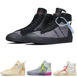 Scarpe blazer online-Serena Williams X Blazer Mid Rainbow All Hallows Eve Uomo Scarpe da corsa Blazer Mid Studio Grim Reepers Donne Trainer Designer 10X Sneakers