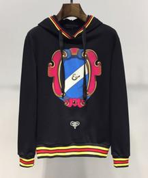 Tout nouveau fonctionnaire en Ligne-Designer marque dg top mens hoodie printemps mode col rond laçage hoodies coton pull populaire officiel vente nouveau style tendance sauvage