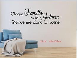 2019 tallas de la pared china Texto etiqueta de la pared etiqueta de la pared etiqueta Decoración francesa sala de estar sala de estar Decoración del hogar