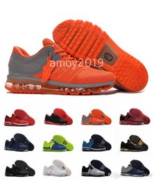 max sports shoes Promo Codes - Orange Men Shoes Bengal Running Grey Black Gold Maxes Kpu Cushion Sports Sneakers Mens Trainers Athletic Shoes Size 7-13