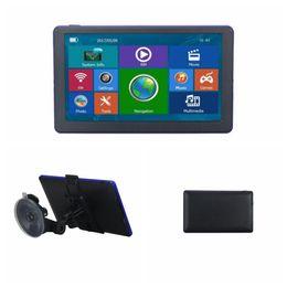 7 pulgadas Coche Bluetooth Navegación GPS Inalámbrico AVIN Camión GPS Navegador 128M WinCE 6.0 Navegador Automóvil Camión GPS KKA6723 desde fabricantes