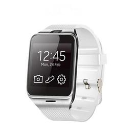 gv18 smart watches Rabatt GV18 Smart-Uhren mit Kamera Bluetooth-Armbanduhr SIM-Karte Smartwatch für IOS Android Phone Support Hebräisch
