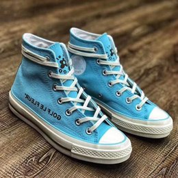 3575995b51e081 2019 New 1970s Canvas Casual Shoes Golf Tlyer TTC White Blue Chaussures  zapatos Chuck Men Women high Top Star Sneakers 36-44