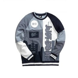 Chandail à capuchon design homme en Ligne-Brand New NK Lovers Sweat à capuche Hip Hop Street Sport Hommes Femmes Designer Hoodies Loose Fit Héron Preston Pull Sweat Chandail 1990