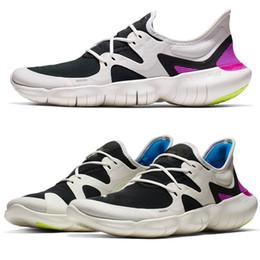 2019 schwarze sport-sandale Originals nike Free Rn 5.0 2019 Laufschuhe Outdoor Sports Designer Laufschuh Turnschuhe Sportschuhe Sandalen Marke Männer Frauen BLACK WHITE günstig schwarze sport-sandale