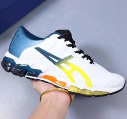 neue asics laufschuhe Rabatt Asics Neue Art und Weise eingerahmt GEL-Quantum 360 5 junge Schuhe Dämpfung neuen Lauf Männer weiß schwarz rot PIEDMONT GRAY Student Turnschuhe