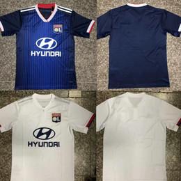 Argentina 2019 Lyon Maillot de Foot Olympique Lyonnais FEKIR Camiseta de fútbol de Lyon Dembele TRAORE Aouar Memphis 19-20 Camiseta de fútbol Lyon OL Suministro