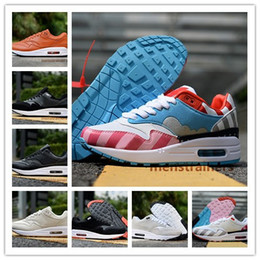 best sneakers f2c6a d1d50 max 87 scarpe Sconti Original Airs Cushion 87 1 One Uomo Donna Running Shoes  Chaussures