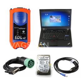Canada Outil de diagnostic agricole pour le logiciel de construction et de foresterie pour ordinateur portable JD Service Advisor EDL V2 + T420 Offre