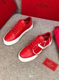 Nuove scarpe casual degli uomini coreani online-8LouisVuittongucci2019 nuova versione coreana delle scarpe basse da uomo e donna alla moda selvaggia