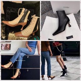 sales sandals party Promo Codes - sale 2019 manu atelier casual sexy designer shoes genuine leather high quality high heels shoes slippers sandals pumps women Loafer 7.5cm