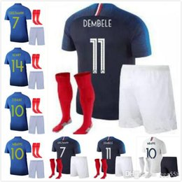 1251da4e254 Discount army navy shirts - Adult kit+socks 2019 MBAPPE GRIEZMANN POGBA  jerseys 100th anniversary