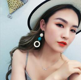 Version coréenne de boucles d'oreilles fille rétro tempérament lin corde de chanvre bois boucles d'oreilles cercle boucles d'oreilles ? partir de fabricateur