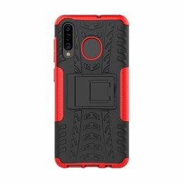 Para samsung galaxy a50 case capa suporte robusto combinado híbrido armadura suporte de impacto capa coldre para samsung galaxy a50 de Fornecedores de iphone i6plus