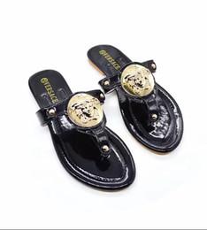 Mulheres sandálias multicolor on-line-Alta qualidade estilo Europeu e Americano verão novo estilo clássico das mulheres sandálias de dedo chinelos sandália multicolor opcional frete grátis 998-13