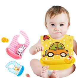 2019 infantili del silicone del bambino Bavaglini bavaglino stampato in silicone stampato con saliva impermeabile e bavaglini bavaglini infantili del silicone del bambino economici