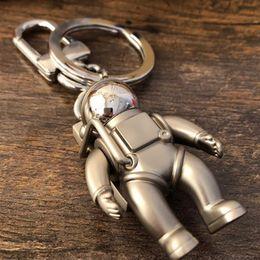 2019 badge della squadra di calcio Spaceman Key Chain designer di accessori per auto Moda Portachiavi Accessori Uomo e pendente delle donne scatola di imballaggio portachiavi