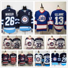 2020 jets kundenspezifisches jersey Individuelle 2019 Winnipeg Jets Jersey Kyle Connor Jersey Andrew Copp Nikolaj Ehlers 29 Patrik Laine Bryan Little Herren Damen Kinder Hockey-Trikots günstig jets kundenspezifisches jersey