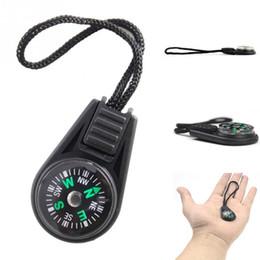 llavero brújula de bolsillo Rebajas Llavero Llavero Mini Pocket Compass Navigator para Camping Espeleología Senderismo Caminante