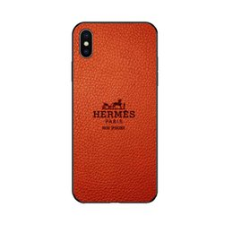 Designer iphone on-line-HERMS designer phone case para iphone 6/6 s, 6 p / 6 sp, 7/8 7 p / 8 p x / xs, xr, xsmax nova chegada marca de volta capa para iphone venda quente atacado
