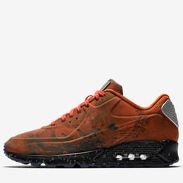 Scarpe di terra online-Nike Air Max 90 2019 Nuovo 90 Mars Landing 3M Cuscino scarpe da corsa per arancione di alta qualità Mens Sport Outdoor Sneakers Jogging Size 40-46