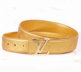 Moda 2019 marca de cuero genuino para hombre para mujer patrón Cinturones para la forma de aleación de hebilla de moda cintura cintura cinturón Cinturon Hombre venta barata desde fabricantes