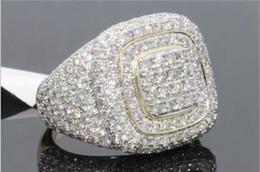 runde diamant-einstellungen Rabatt Luxus Kristalle Strass Frauen Frauen Fingerringe 2019 Mode Unisex Schmuck Ringe Zubehör