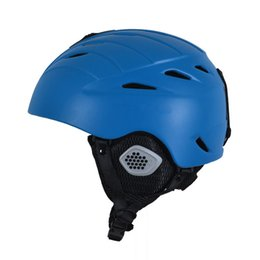 2019 cascos ops core 2015 NUEVA actualización Mejor marca de casco de esquí Casco de esquí hombres adultos Mujeres deporte negro rojo azul