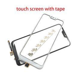 Redmi nuovo telefono online-10 pz / lotto Nuovo compatibile per Xiaomi Mi A2 Lite / Redmi 6 Pro Moible Telefono touch screen anteriore sensore del pannello di vetro